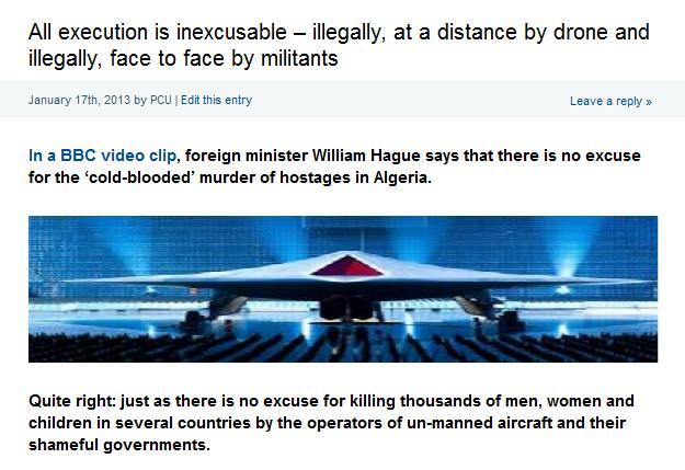 pcu hague algeria drones