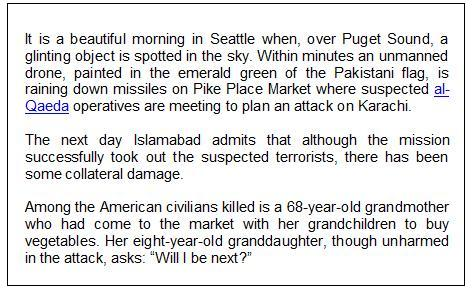 snapshot text seattle drone attack