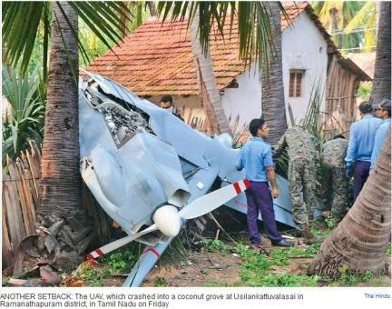 drone crash kerala 13