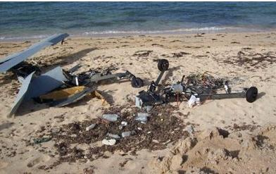Two crashes were recorded at the Seychelles International Airport.