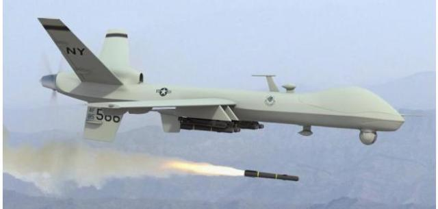 us predator drone fire hellfire missile