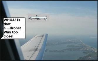 drone too close