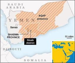yemen hostage death site map graphic news