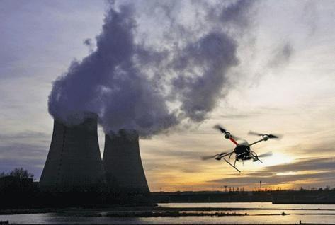 drones nr fr station