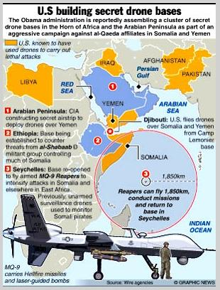 America's Secret Drone Bases in Africa and the Middle East - Global