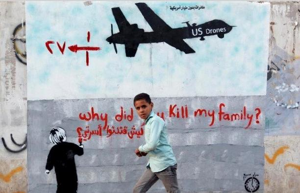 yemen wall poster why kill family