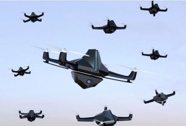 drone swarm